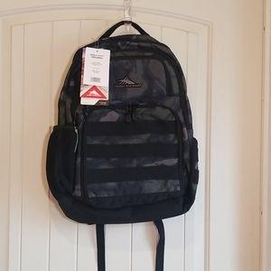 NWT High Sierra Backpack